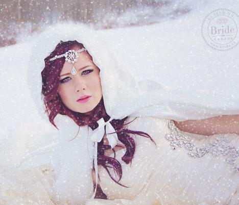 Snow Princess Bride