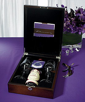 Love-letter wedding ceremony box