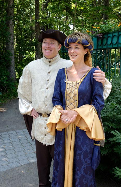 medieval theme wedding
