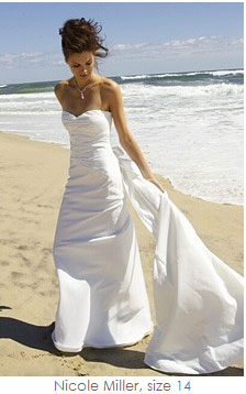 Second-hand bridal gown