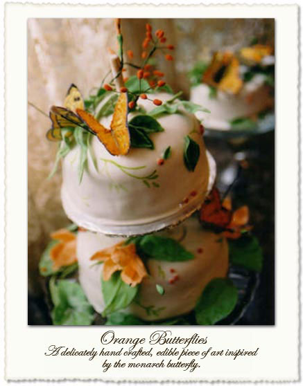 Butterfly wedding cake by Helena, in Toronto