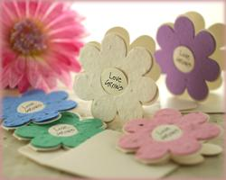 DIY wedding favour personalised candles