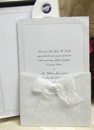 DIY wedding invitations kits by The Thank You Company