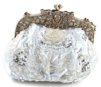Victorian wedding purse