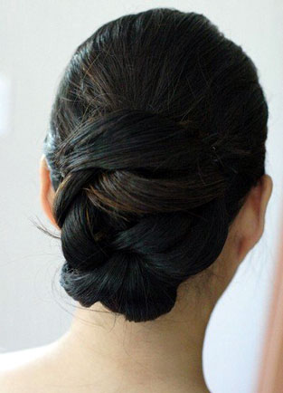 Low Plaited Bun by Beauty-a-Go-Go in Vancouver