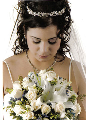Classic Bridal Half-Up/Half-Down 1