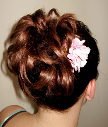 Bridal Undone UpDo, by Image Euphoria Mobile Hair in Winnipeg