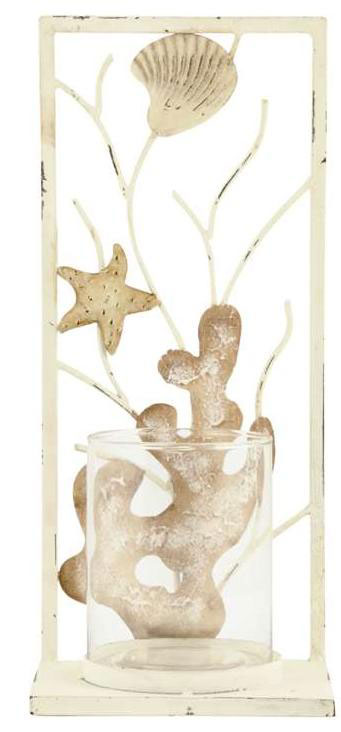 sea shell-candle holders wedding centrepieces