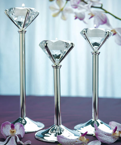 tea light holders wedding centrepieces