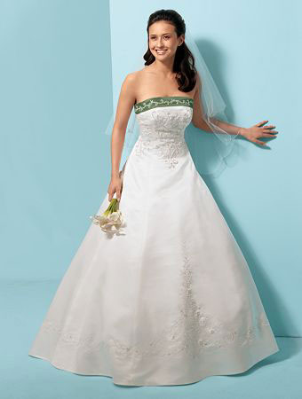Alfred Angelo 2009 bridal gown 1612