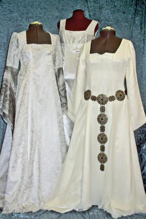 Medieval wedding dress by SkyRidge designs