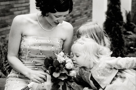 Flowergirl: Hyperfocus wedding photo, Vancouver