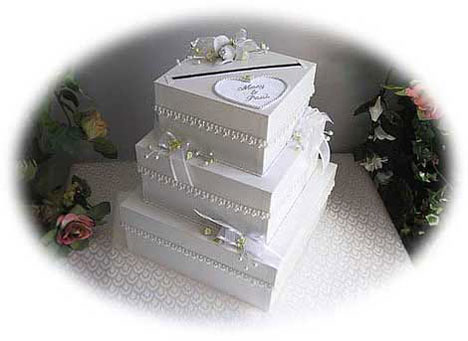cake box wedding money box